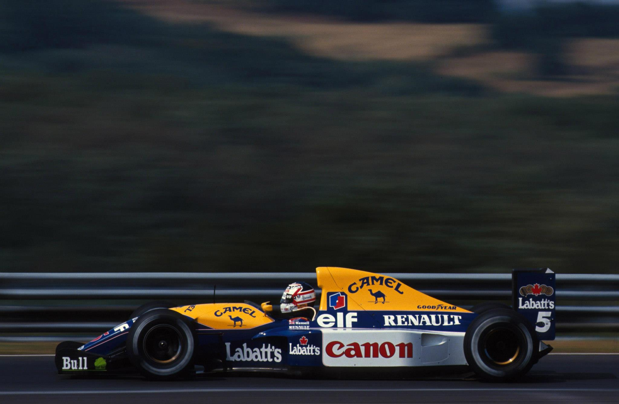 Williams FW14B, el auto del futuro