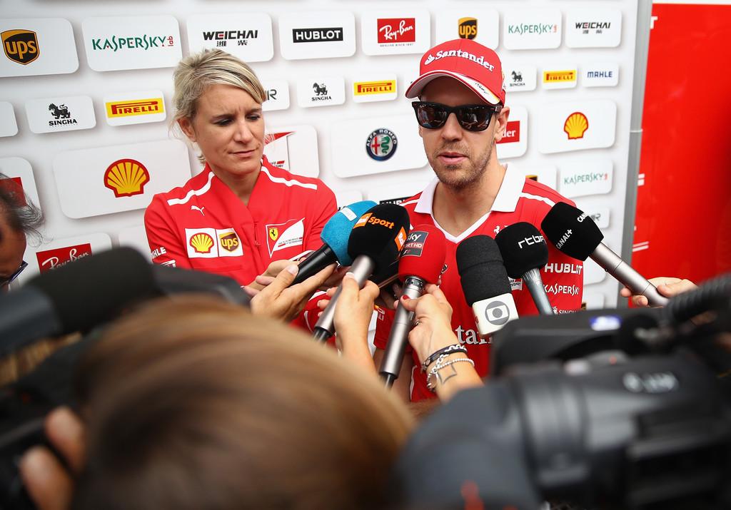 """Vettel reconoce la fuerza de Mercedes """"en todas las condiciones"""""""