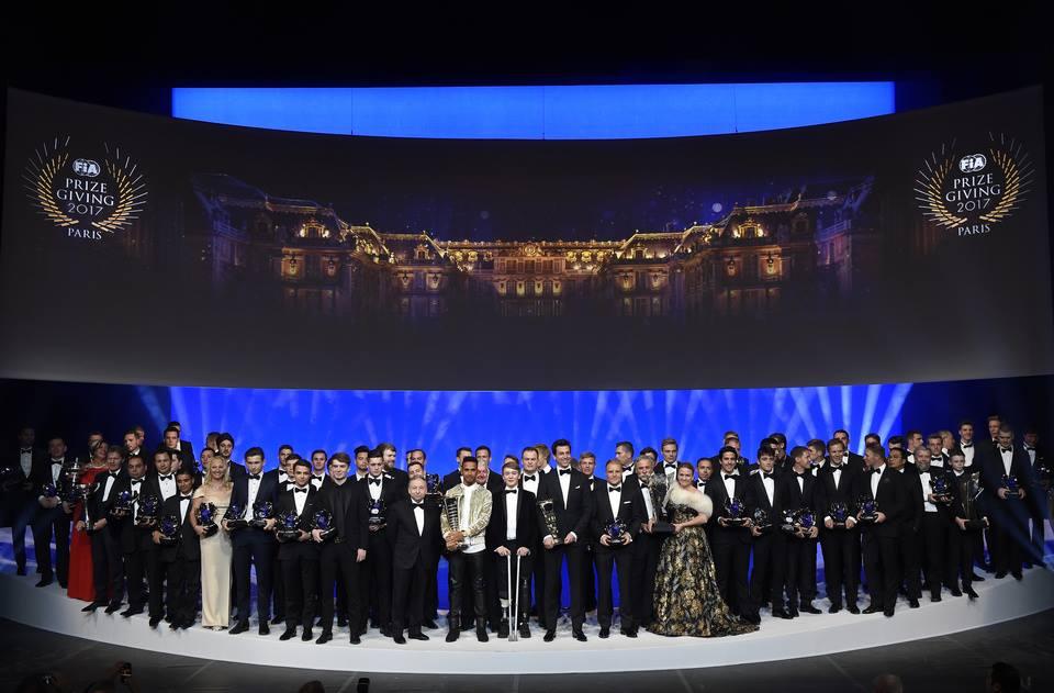 Ceremonia de la FIA