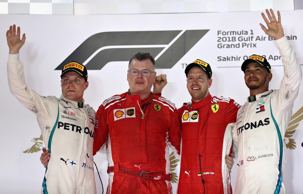 GP de Bahrain: Domingo