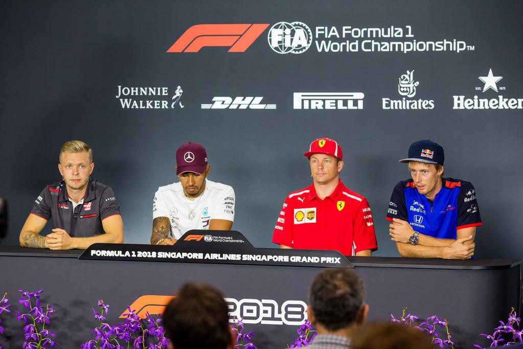 Galería – Jueves – Singapore GP