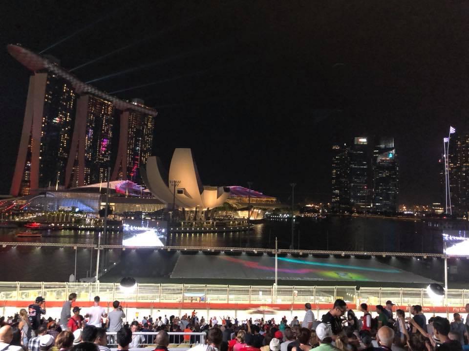 Singapur en Video desde la visión del Fan – Por Enrique Quiñones-
