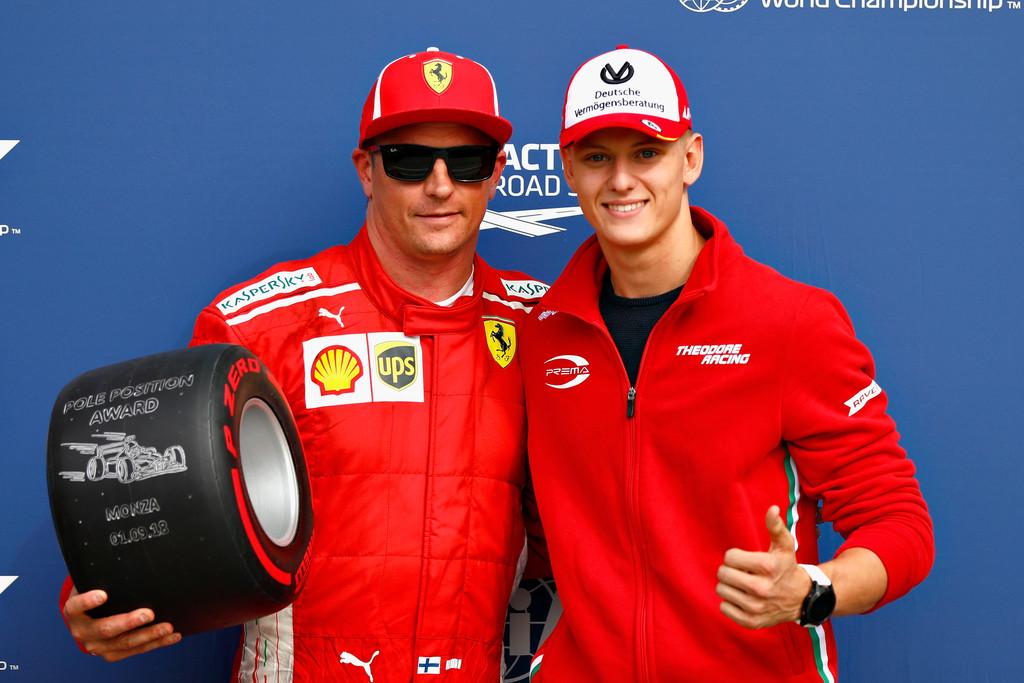Kimi Raikkonen Logra la Pole en Monza