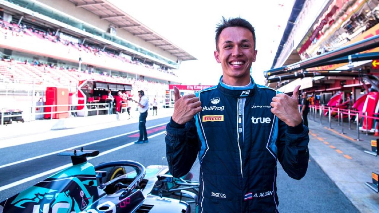 Oficial: Alex Albon a Toro Rosso en 2019