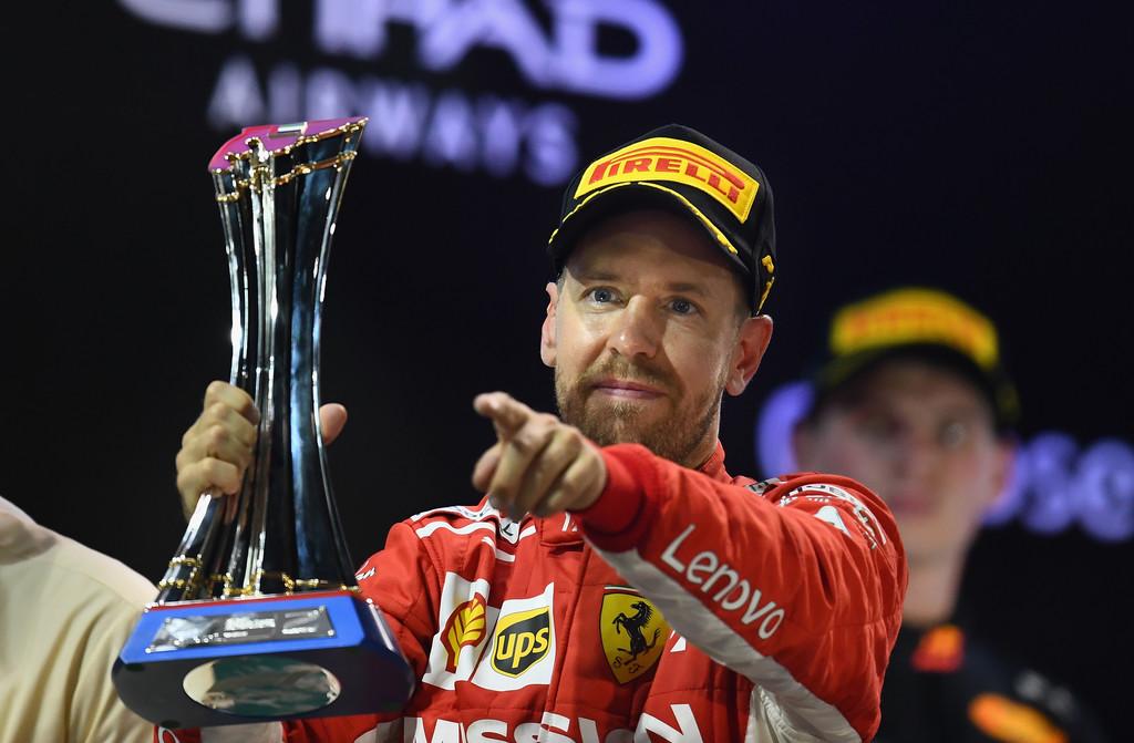Vettel terminó 2° en Abu Dhabi y promete ser mejor en 2019