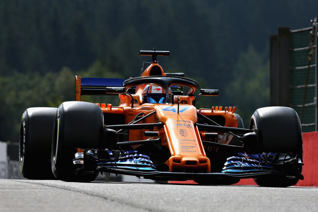 Norris eligió el dorsal 4 para usar en F1