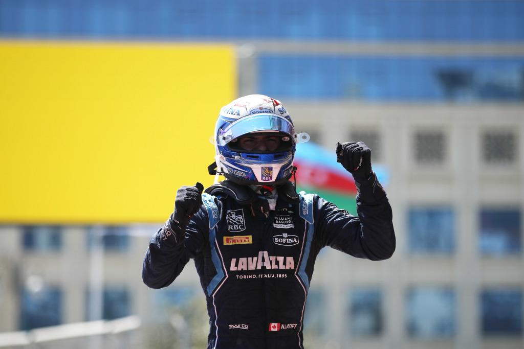 Latifi conquista la Sprint race de la F2 en Azerbaiyan
