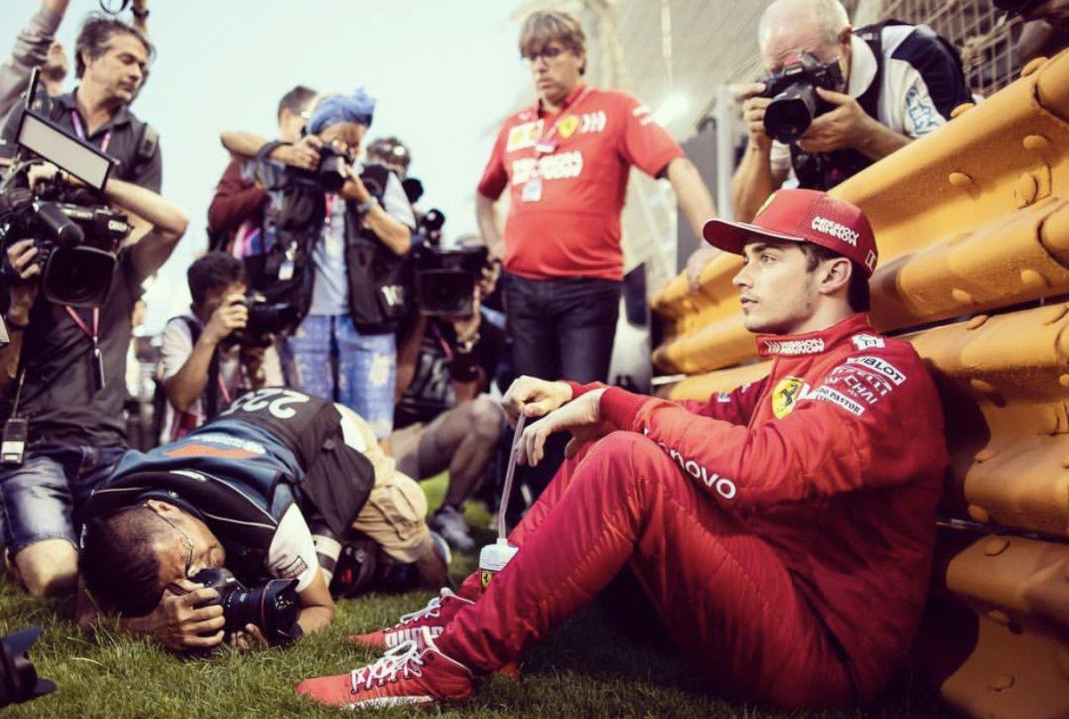 """Leclerc:""""En el futuro vamos a ver quién es el líder del equipo"""""""