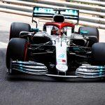 Hamilton toma la pole en Monaco