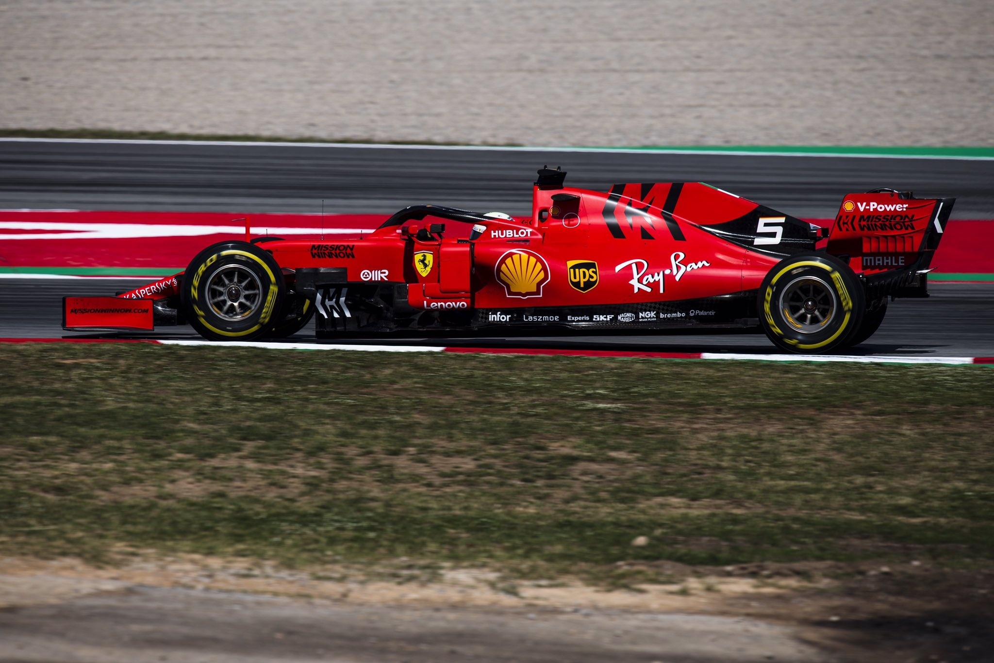 Un Ferrari con evoluciones pero con mismos resultados, por Elian Roberto.