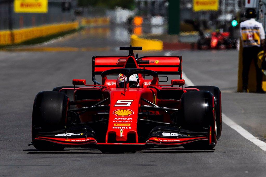 Sebastian Vettel consigue la Pole en Canadá