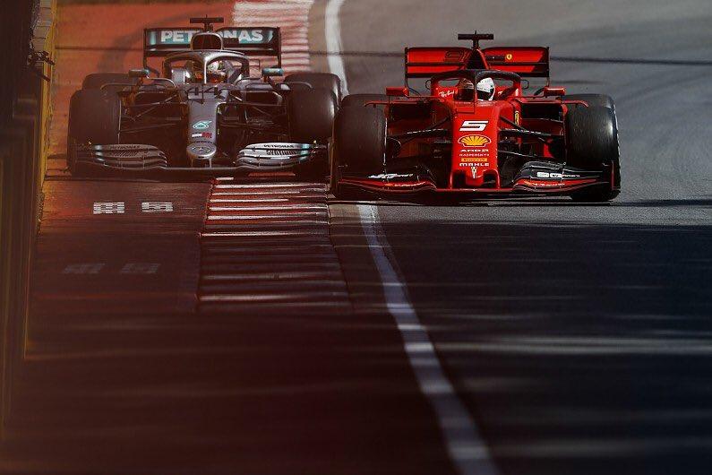 Vettel Hamilton Montreal