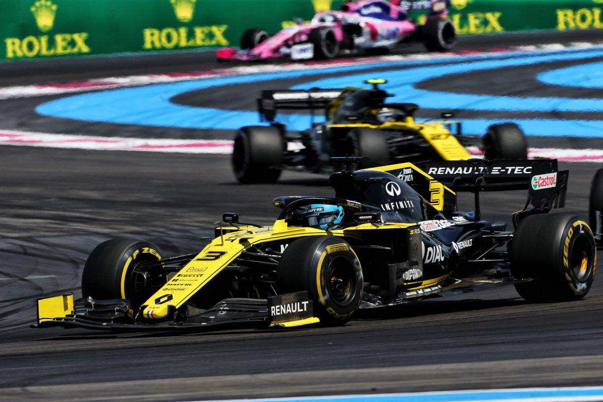 Ricciardo, penalizado por dos, se queda sin puntos en Francia