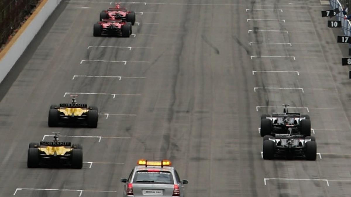 El día de la vergüenza para la Formula 1, Gran Premio EEUU 2005