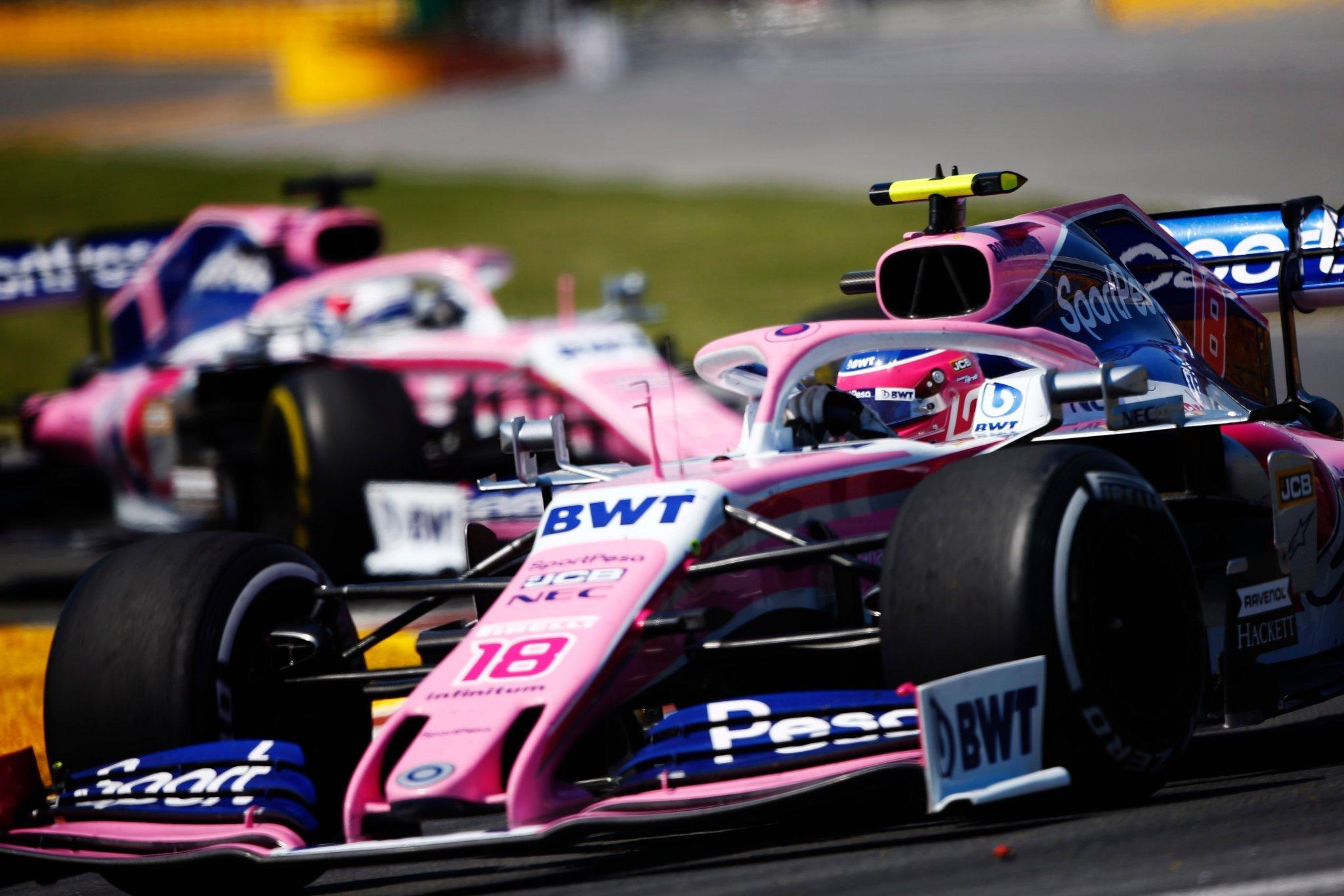 La dupla Stroll-Pérez continuará en 2021 sin cambios