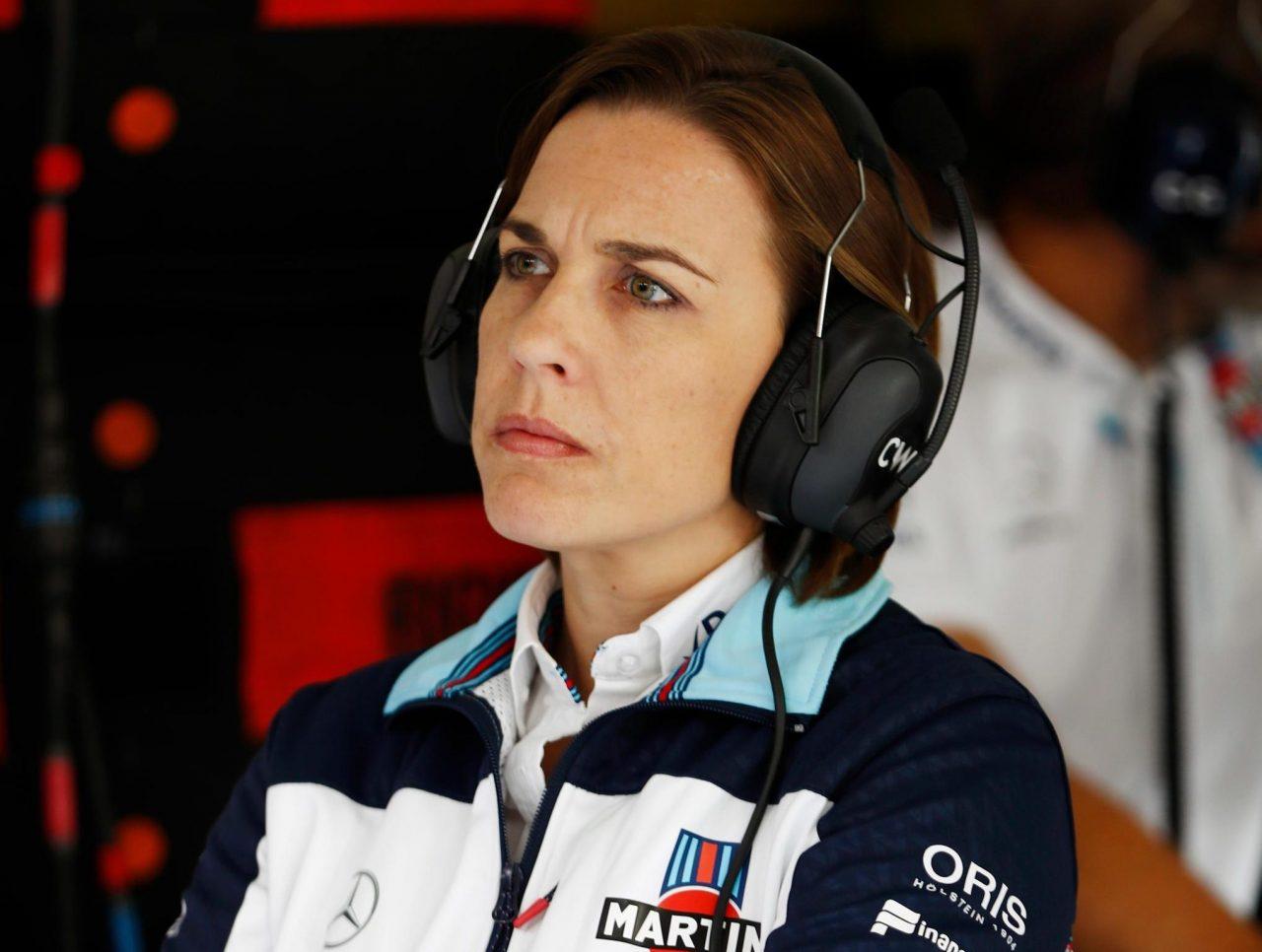Claire Williams se opone a más de 21 carreras por temporada.