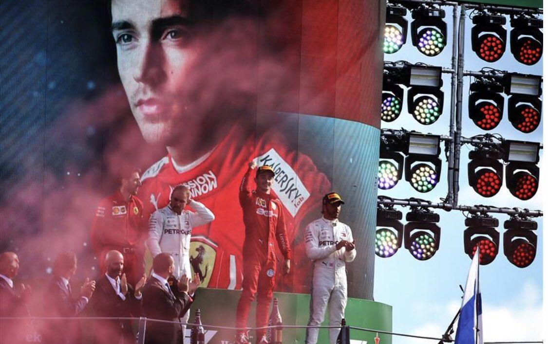 Leclerc gana en Monza