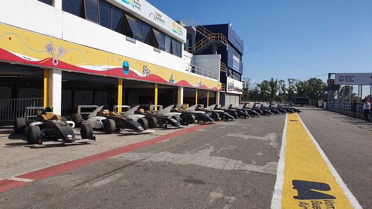 Nueva jornada de pruebas de la F4 FIA Argentina