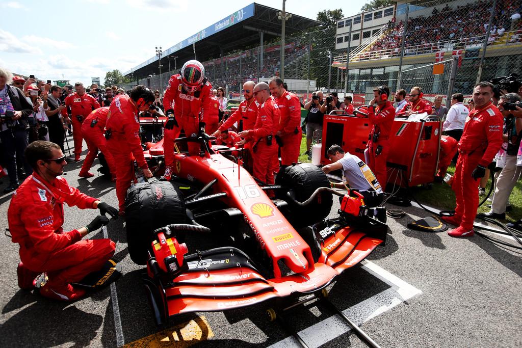 Piezas del motor de Ferrari, incautados por la FIA