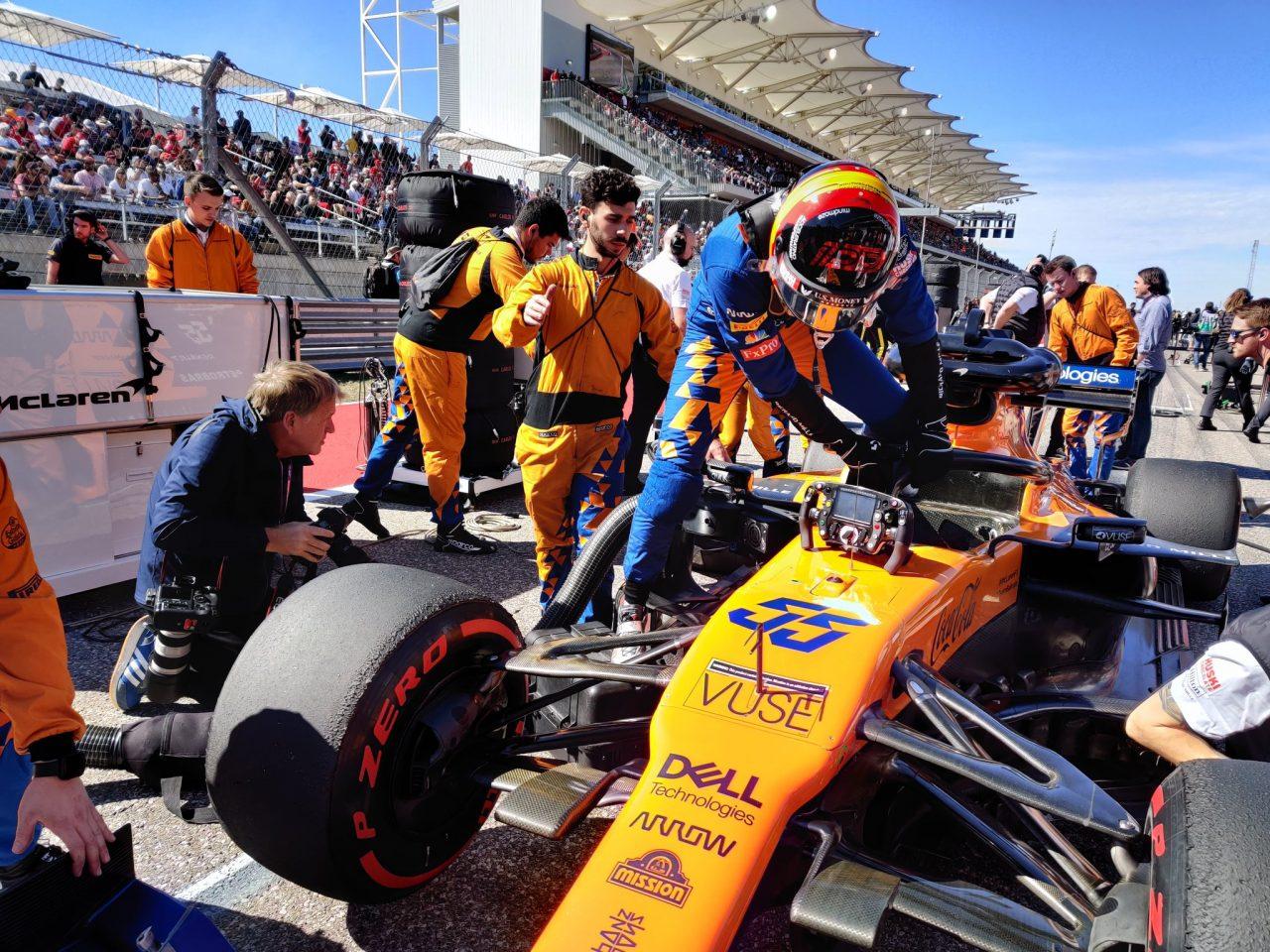 """McLaren, """"campeones"""" del resto en Austin"""