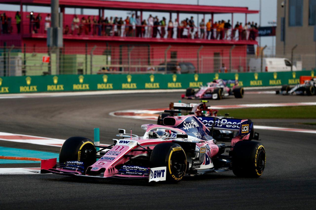 Racing Point, mejor del resto en Abu Dhabi.