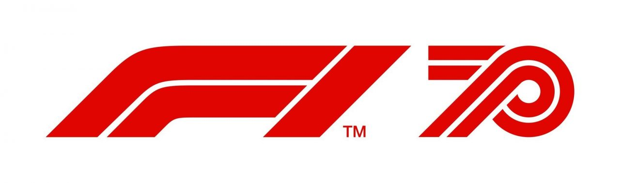 F1 Lanza un logo en celebración por su aniversario n° 70