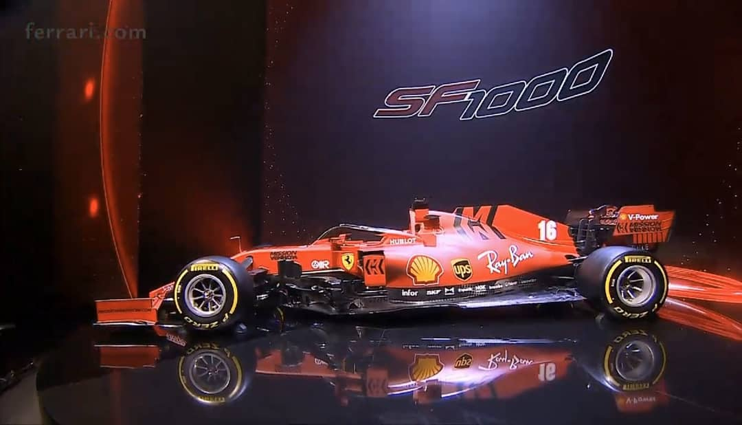 Ferrari presentó en sociedad su monoplaza para la temporada 2020