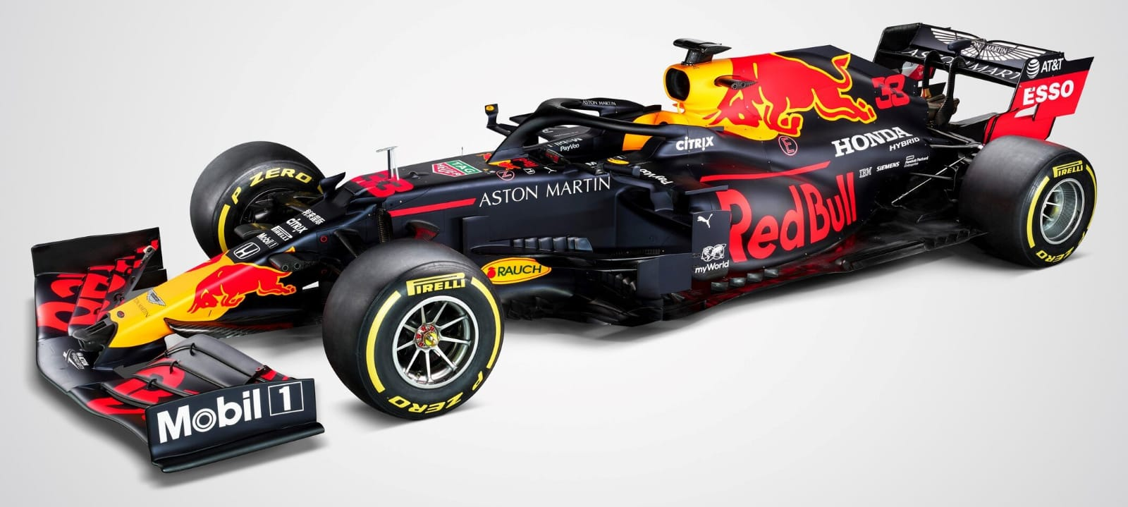 Red Bull presentó el RB16