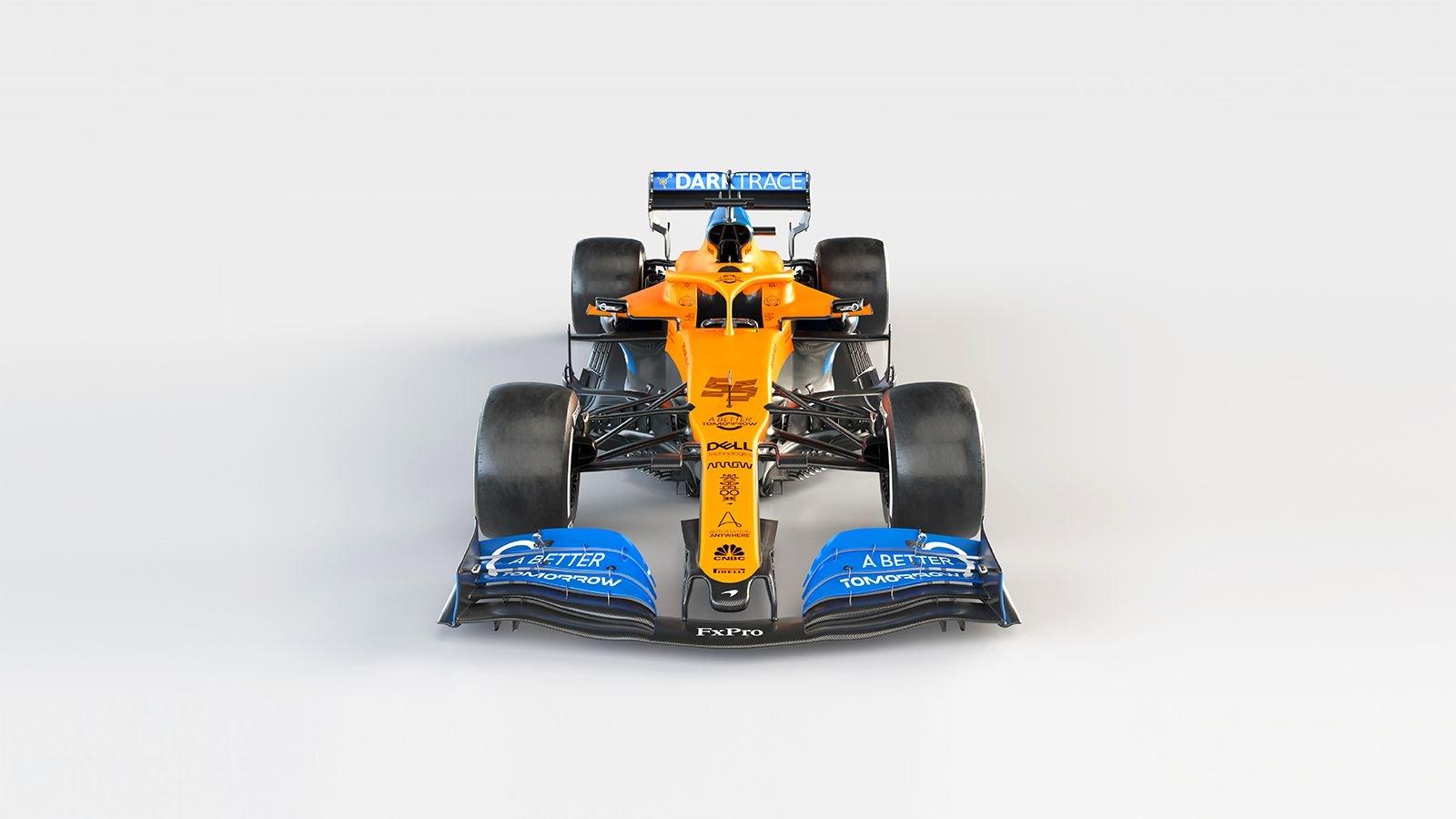 McLaren presentó el MCL35