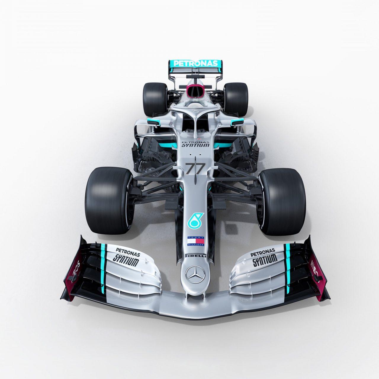 Mercedes presentó el W11 .