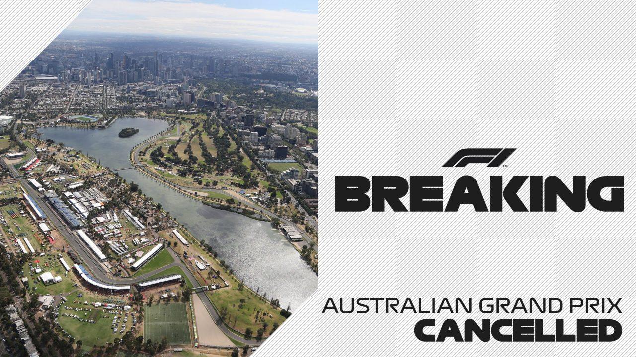 Gran Premio de Australia Cancelado