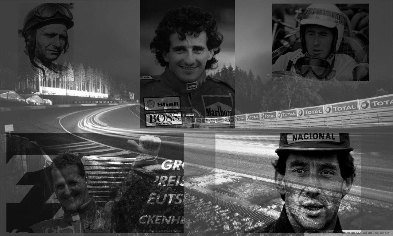 Los mejores cinco pilotos de la historia
