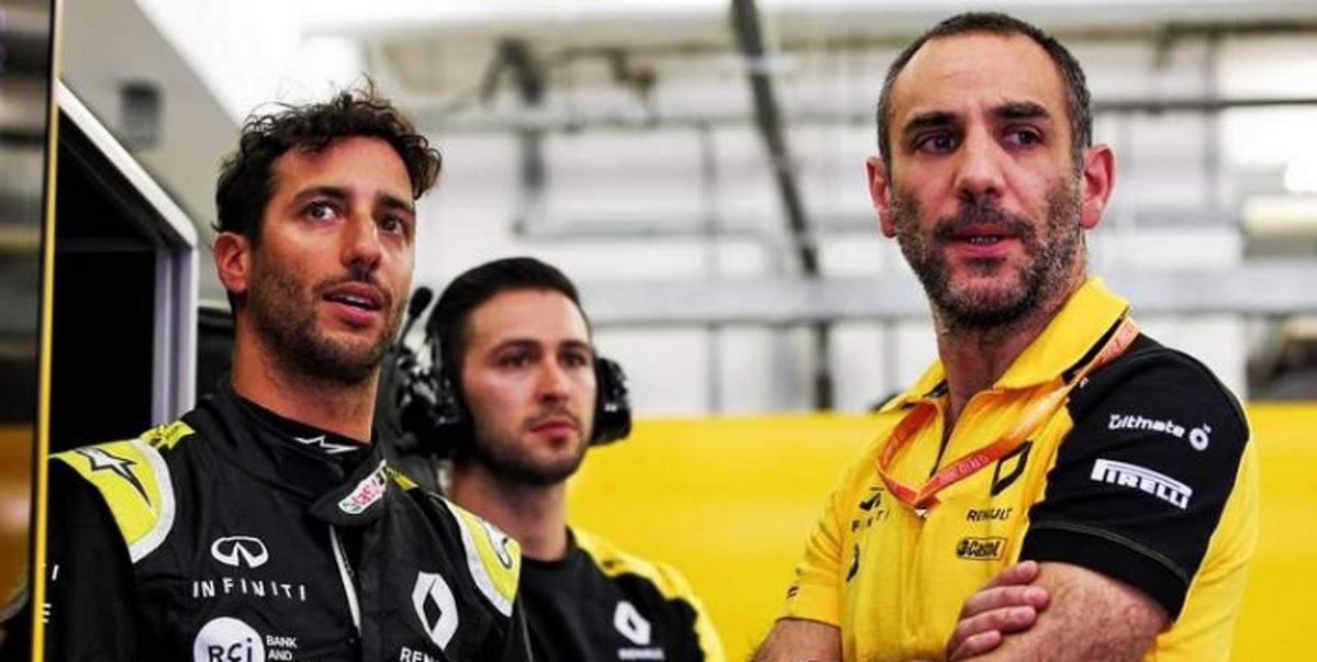 Sin agradecimientos, Renault despide a Ricciardo