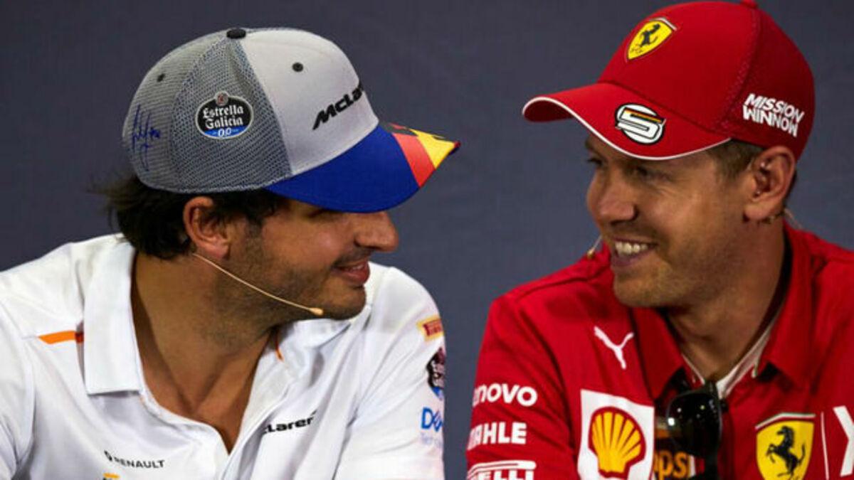 Carlos Sainz portará los colores de Ferrari a partir del 2021