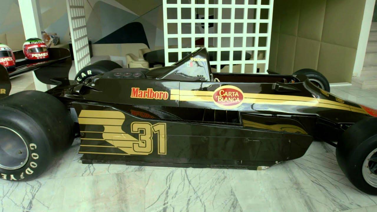 #MonoplazasÚnicos | HR100 el único monoplaza y equipo mexicano de la Fórmula 1.