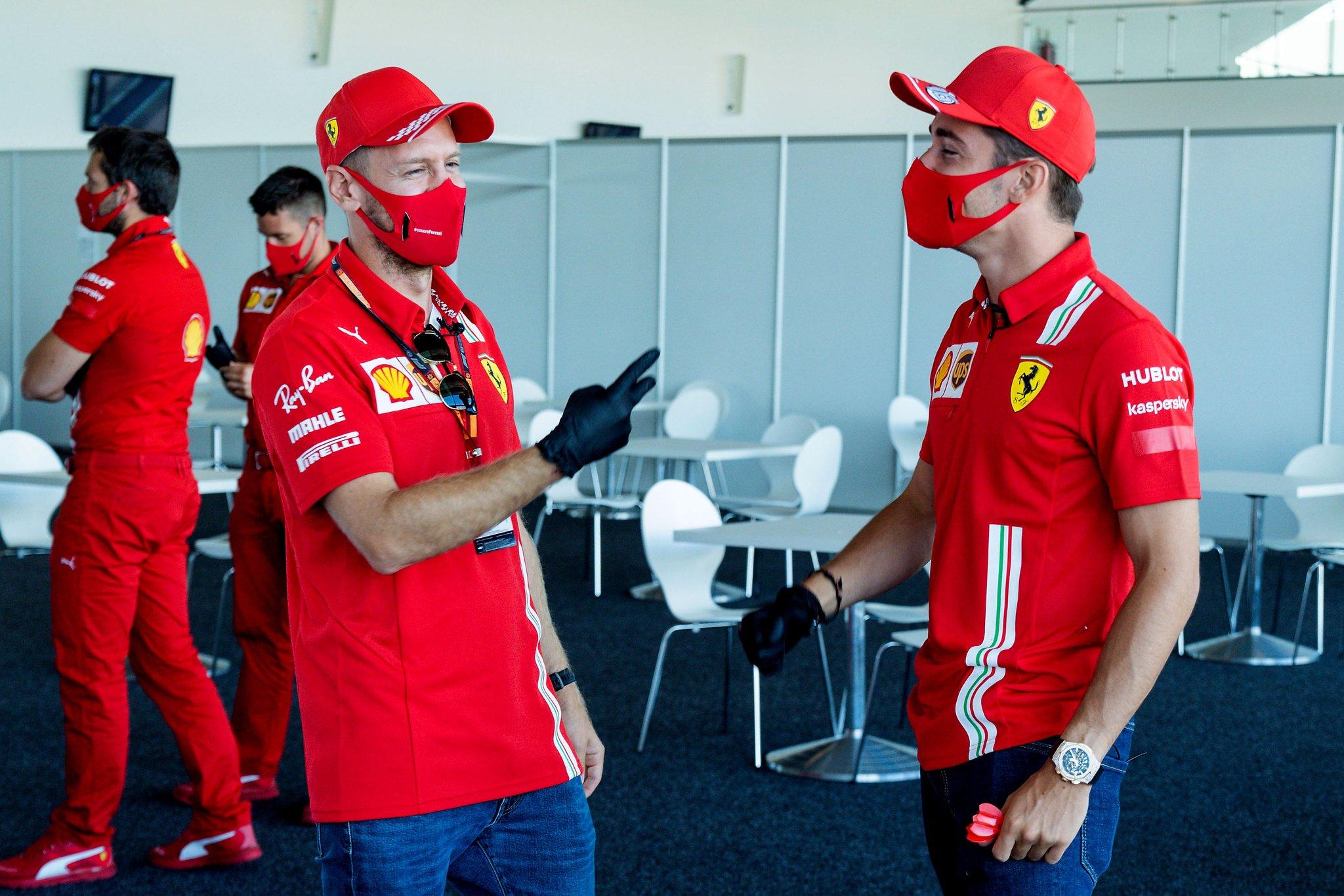 Ferrari no tuvo el mejor viernes de pruebas en Silverstone