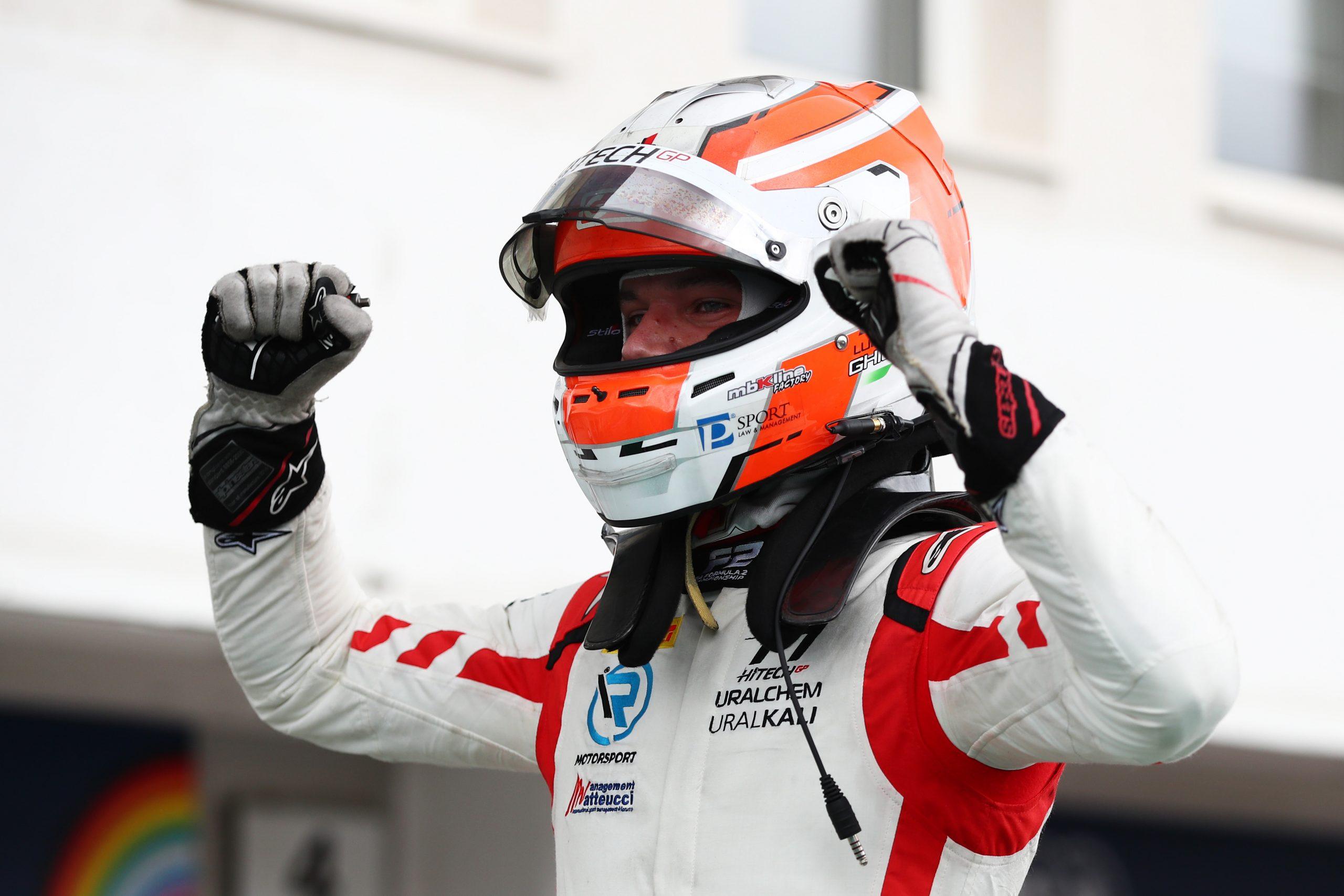 Luca Ghiotto vuelve a la victoria en la F2