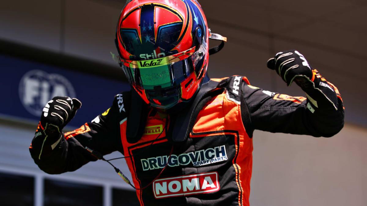 Drugovich ganó la carrera Sprint de la F2 en su fin de semana de debut