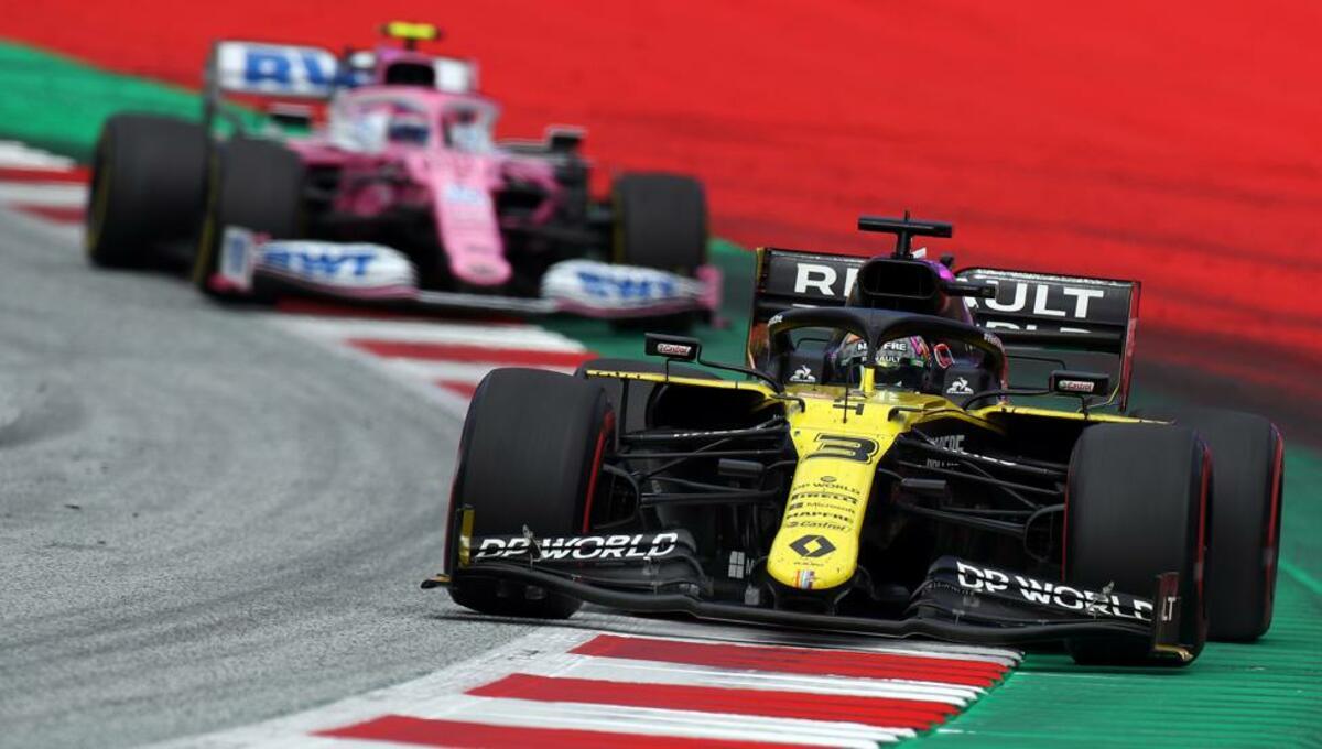 Renault y Racing Point- Foto F1 (1)