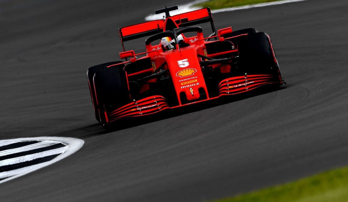 Vettel lamenta la falta de ritmo en clasificación