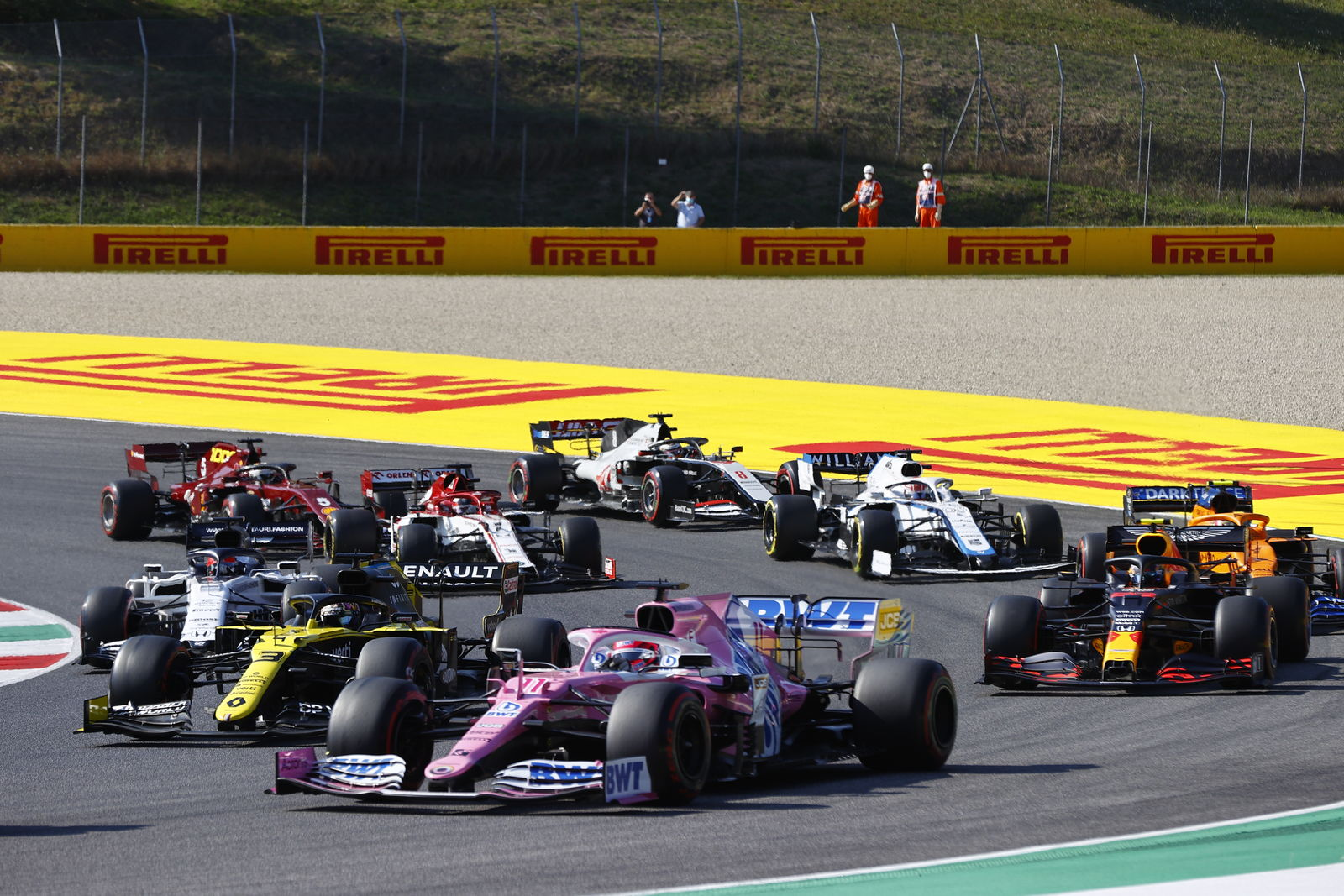 Carrera agridulce para Racing Point