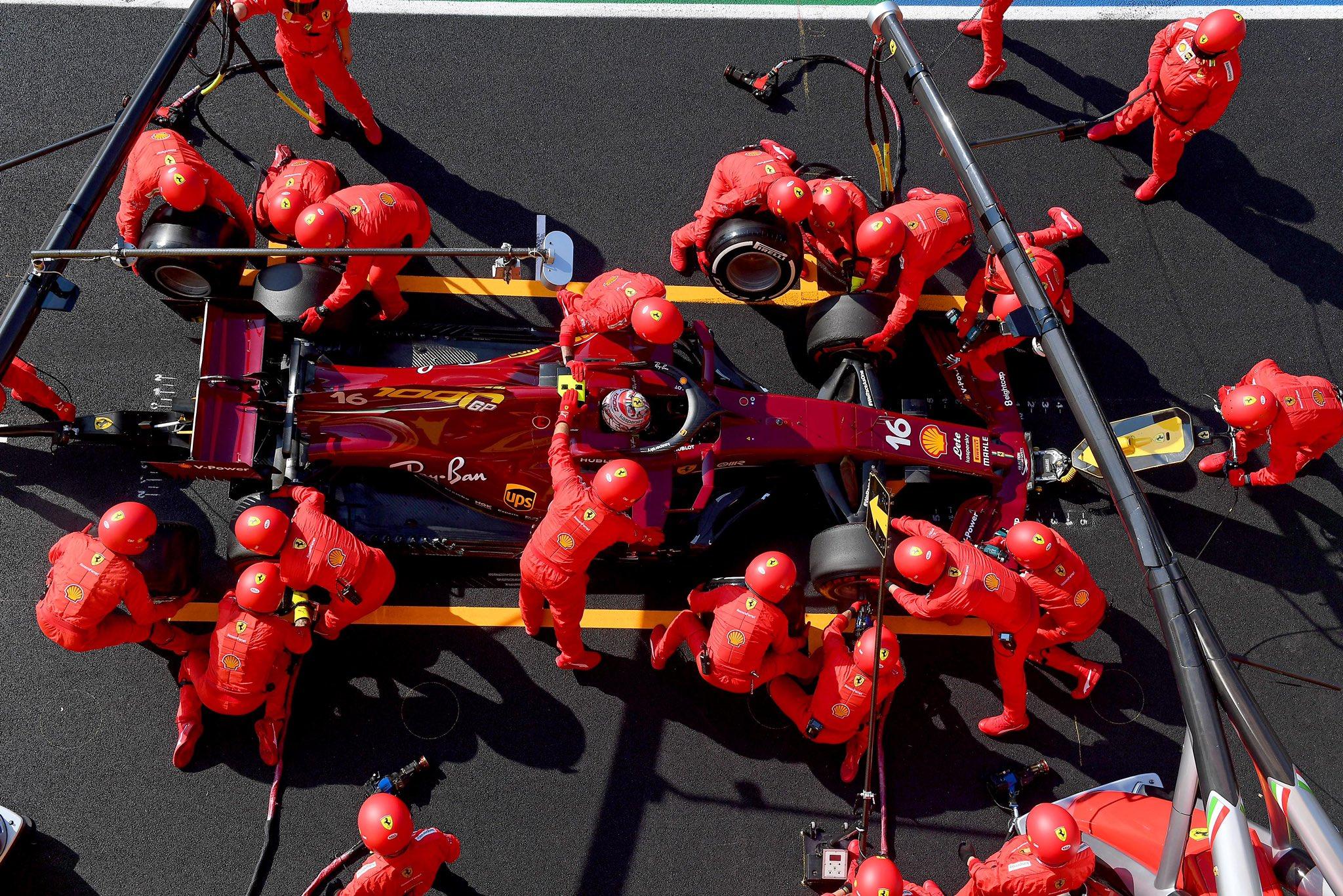 Vettel Ferrari Mugello