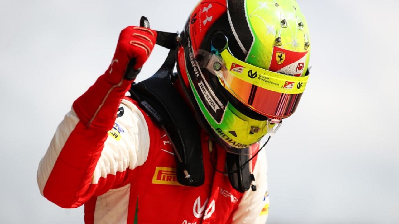 Mick Schumacher volvió a ganar, esta vez en Sochi