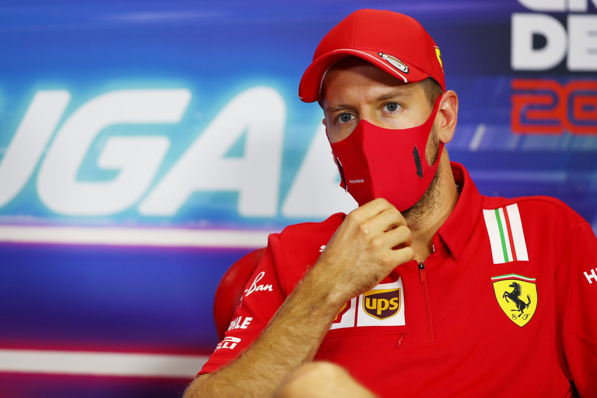 Sebastian Vettel, conferencia de prensa FIA- Foto FIA