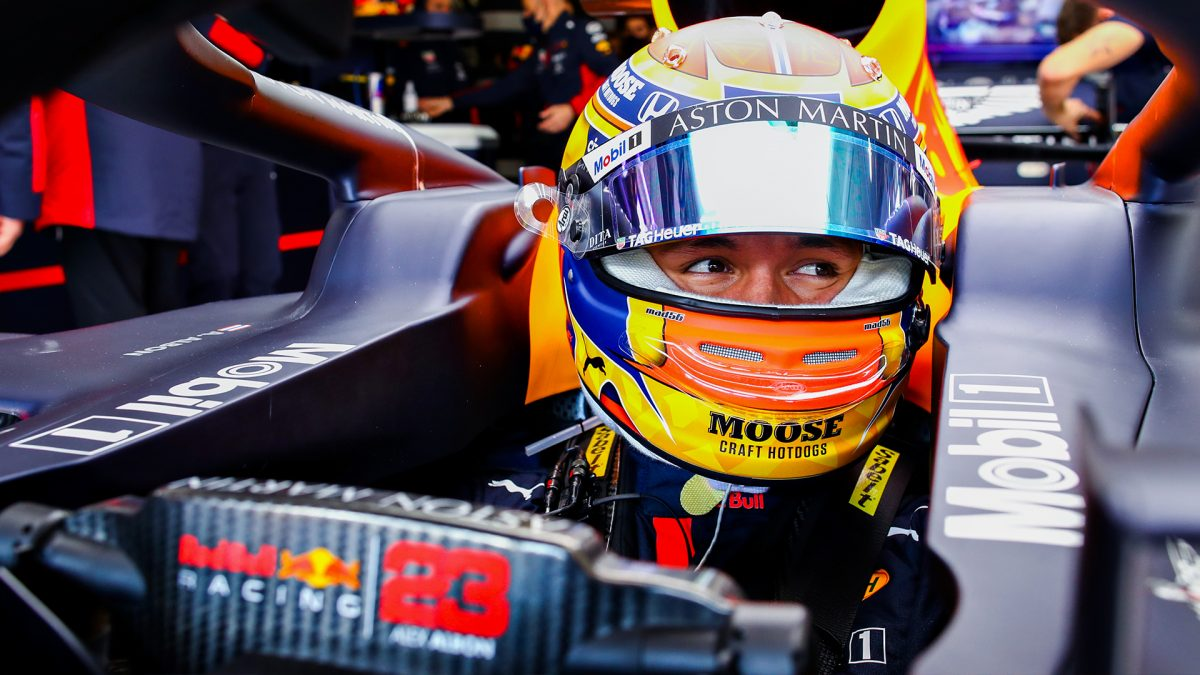 Alex Albon- Foto Red Bull