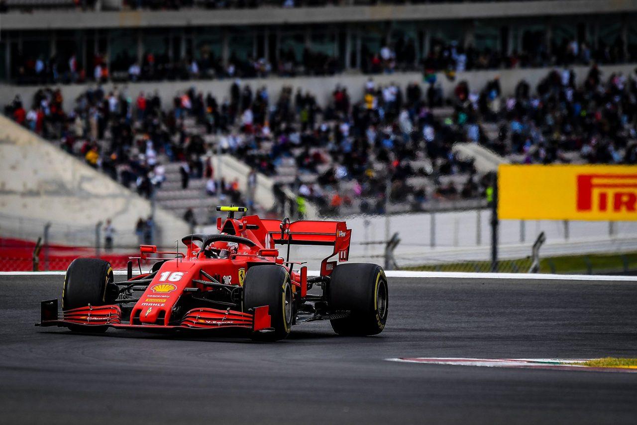 Charles Leclerc satisfecho con su cuarto puesto del GP de Portugal