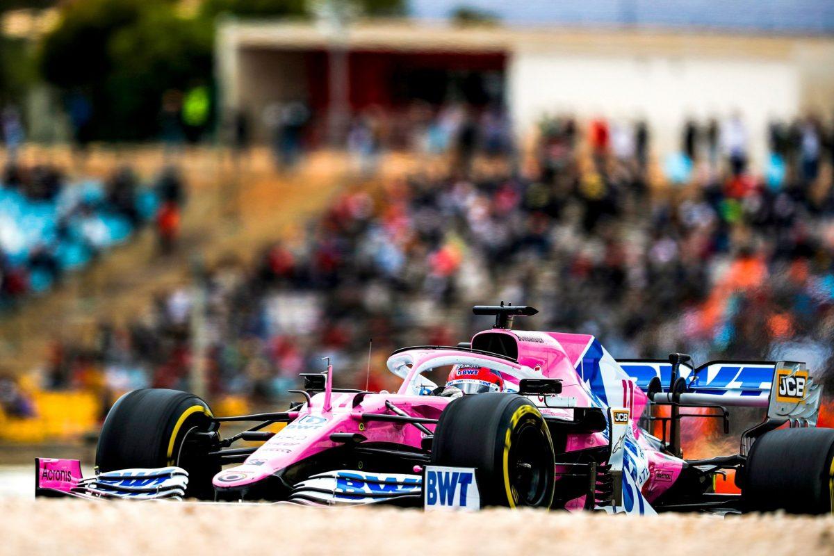 Racing Point se prepara para el Gran Premio de Imola
