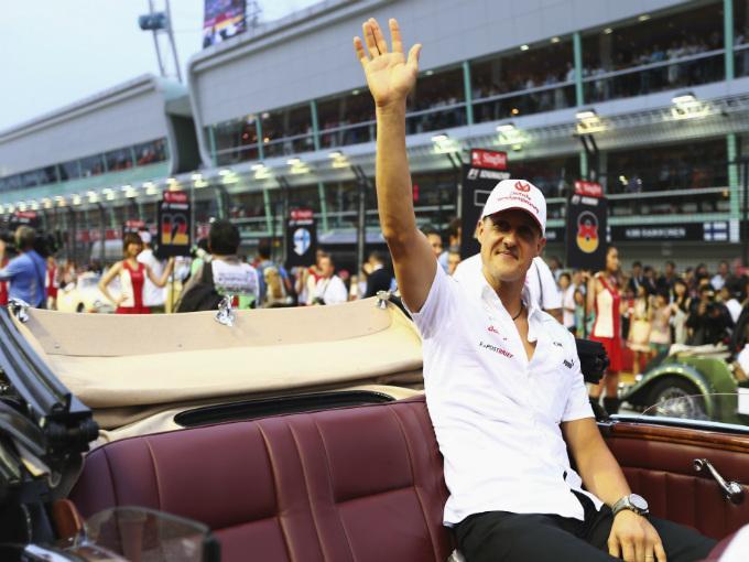 Schumacher- GP Singapur
