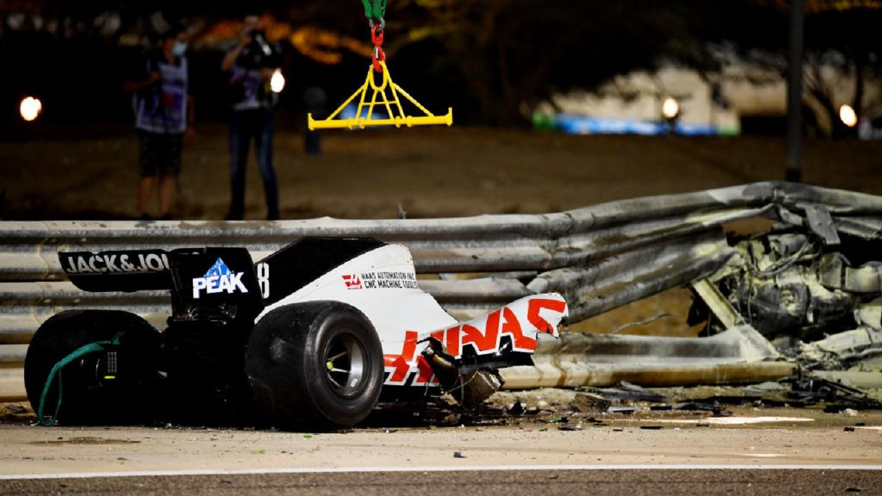 Grosjean Bahrain