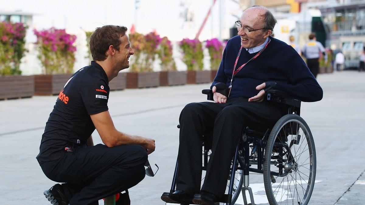 Jenson Button y Frank Williams